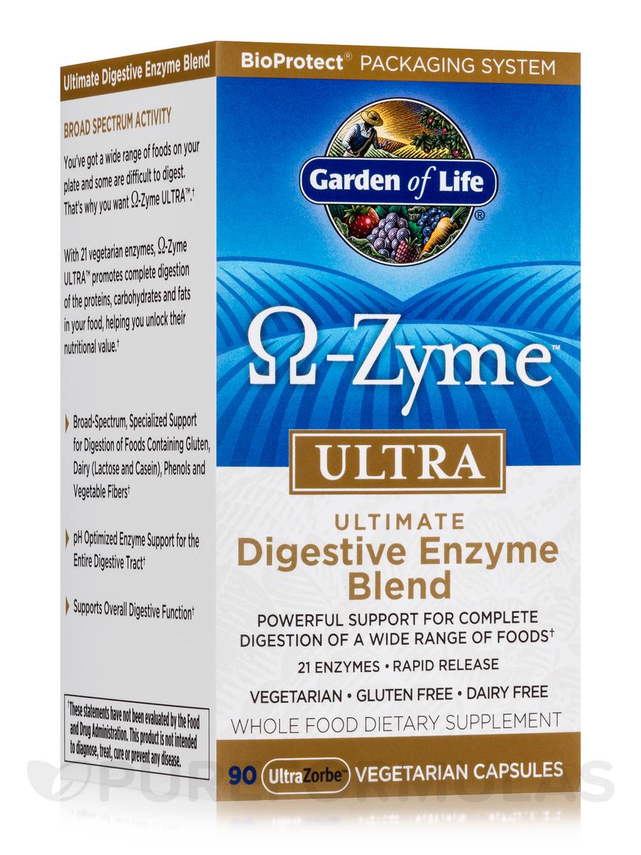 O-Zyme™ ULTRA - 90 Vegetarian Capsules