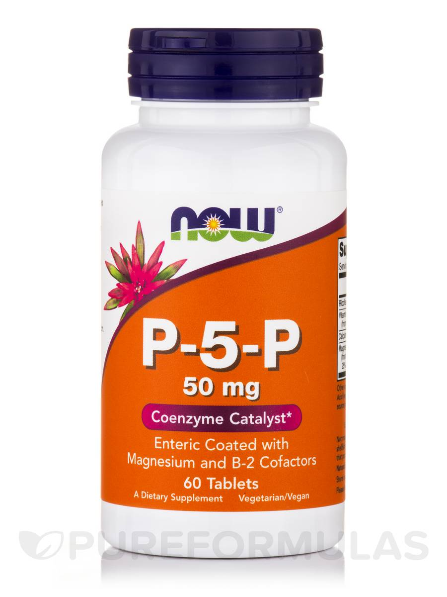 P-5-P 50 mg - 60 Tablets