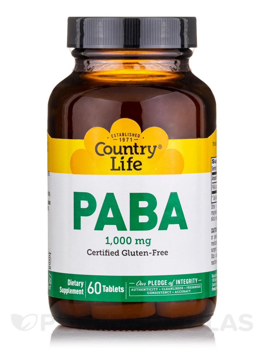 Paba 1000 mg TR - 60 Tablets