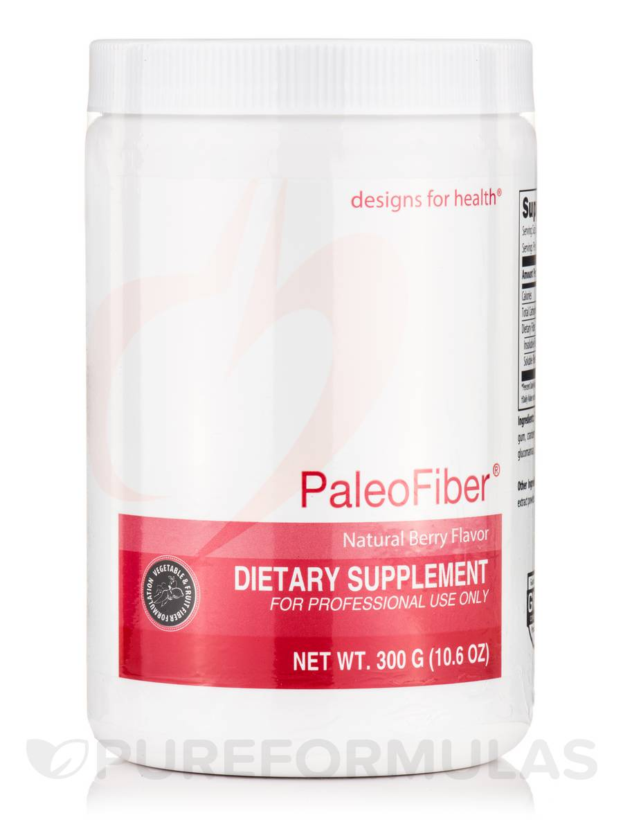 PaleoFiber Natural Berry Flavor - 10.6 oz (300 Grams)