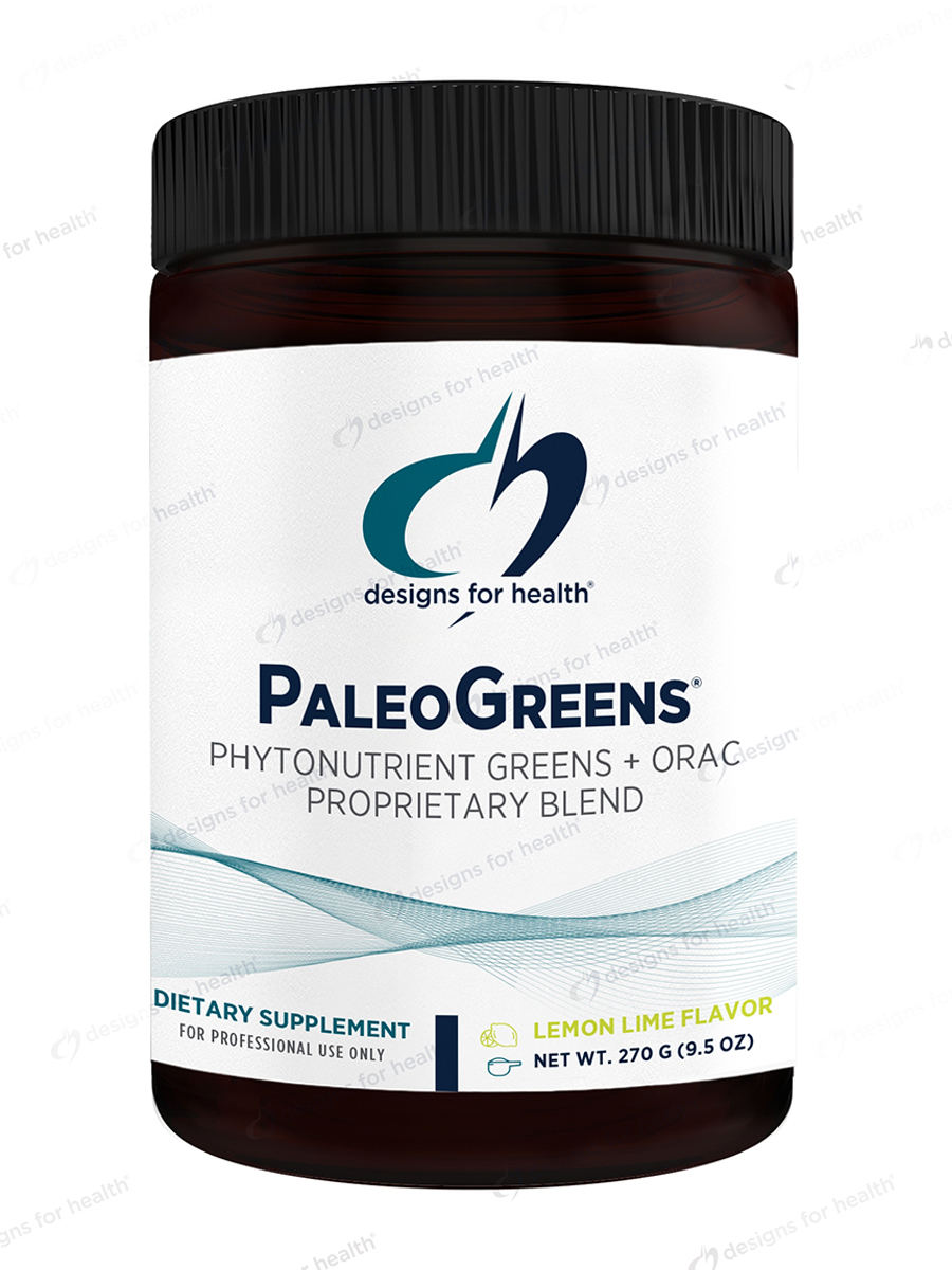 PaleoGreens™ Lemon-Lime Flavor - 9.5 oz (270 Grams)