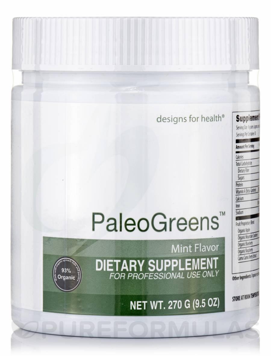 PaleoGreens™ Mint Flavor - 9.5 oz (270 Grams)