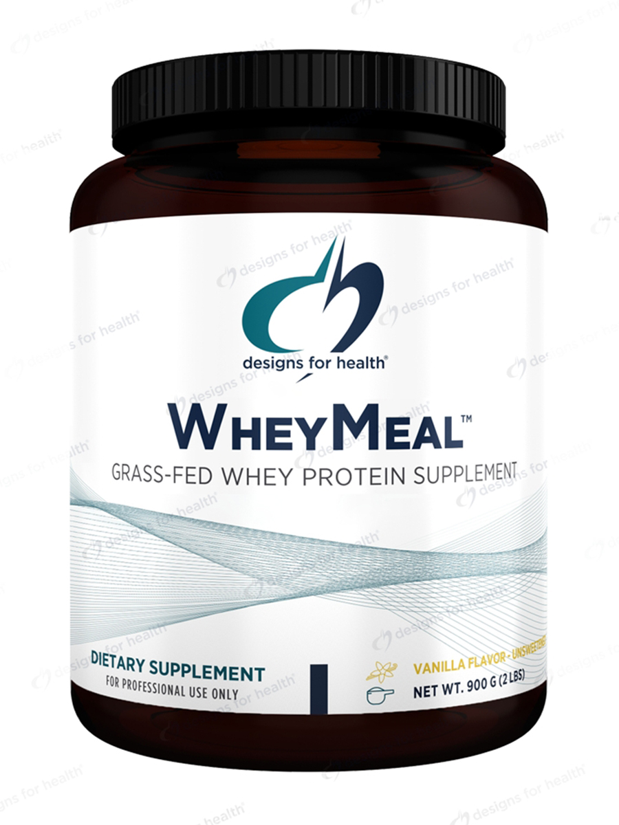 WheyMeal™ Powder, Natural Vanilla Flavor (Unsweetened) - 2 lbs (900 Grams)