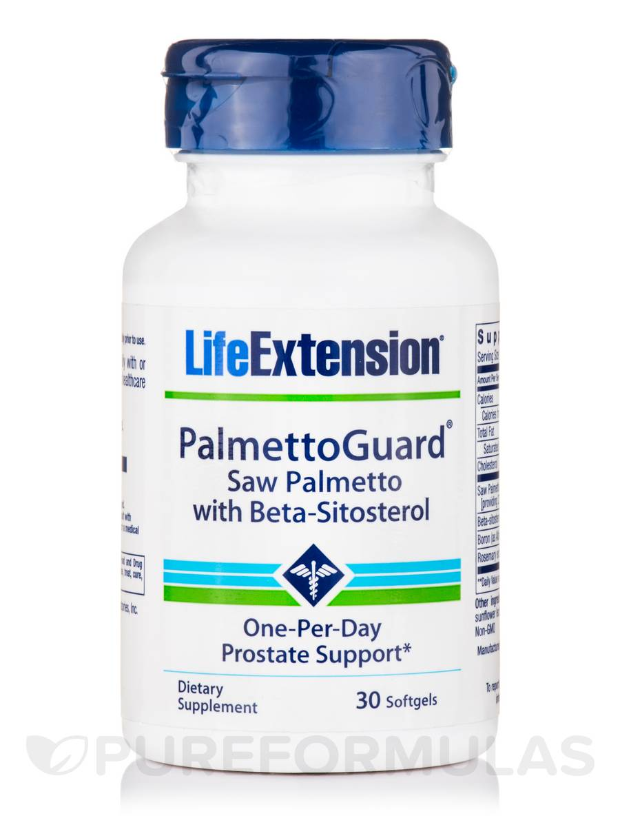 PalmettoGuard™ Saw Palmetto with Beta-Sitosterol - 30 Softgels