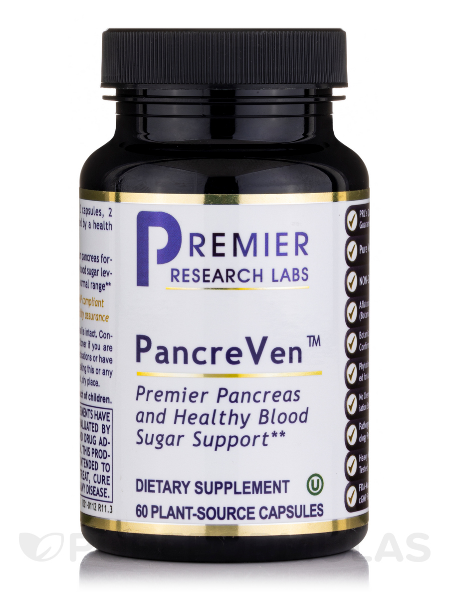 PancreVen (formerly Pancreas Complex) - 60 Vegetable Capsules
