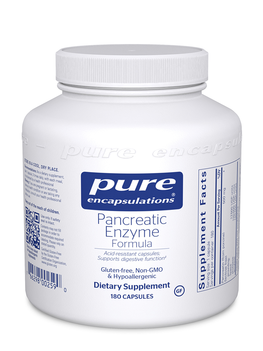 Pancreatic Enzyme Formula - 180 Capsules