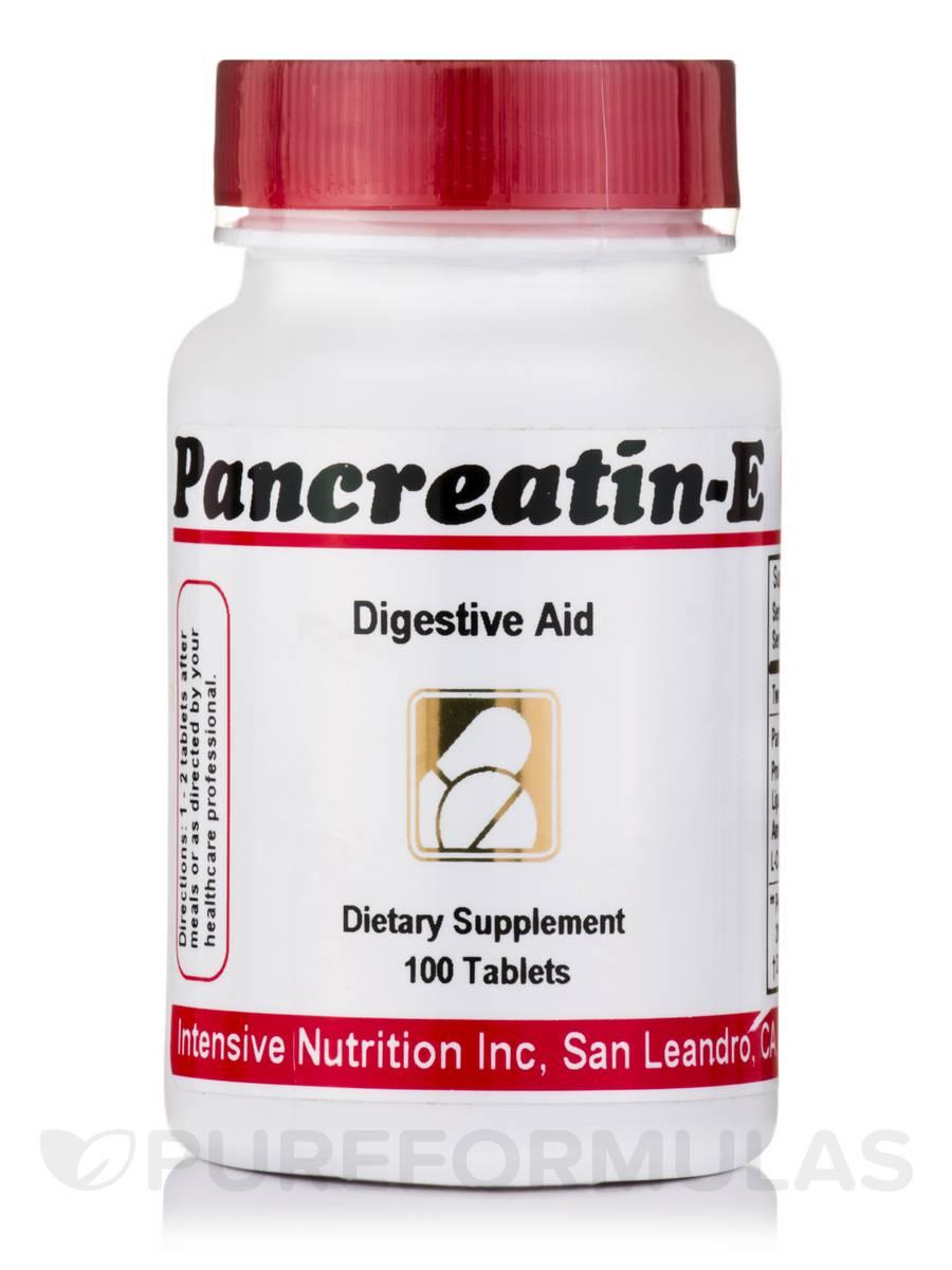 Pancreatin-E - 100 Tablets
