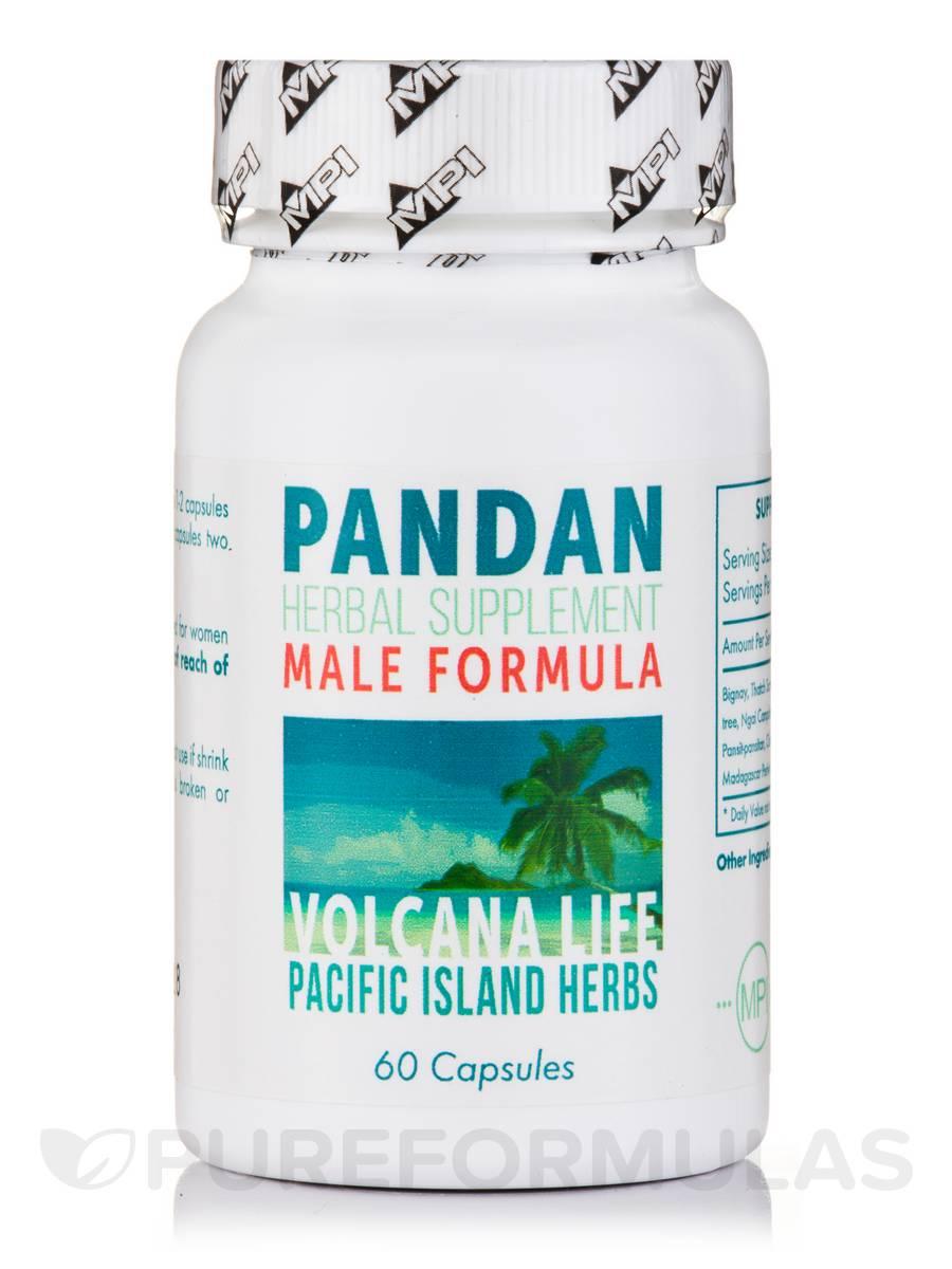 Pandan Male Formula - 60 Capsules