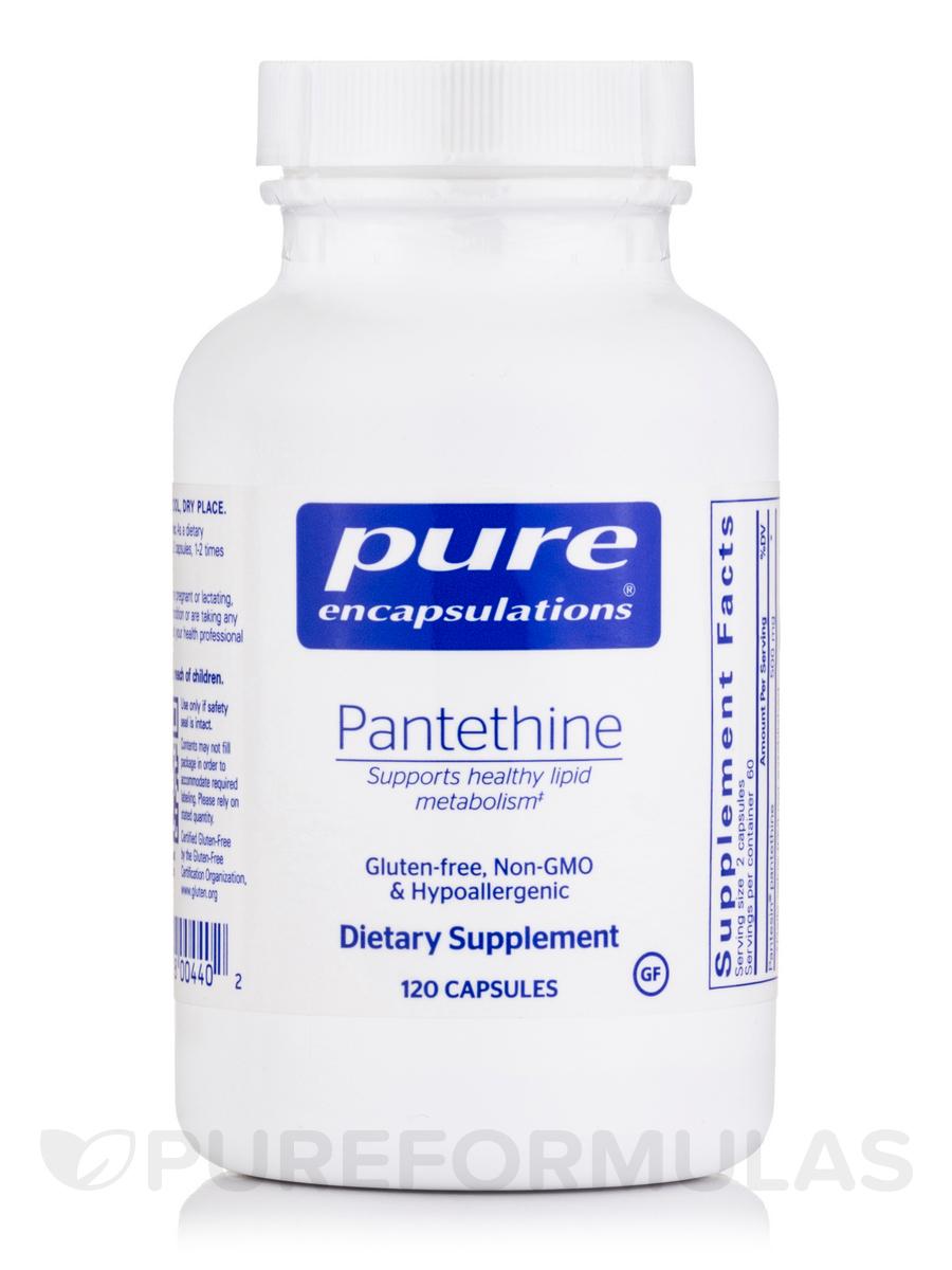 Pantethine - 120 Capsules