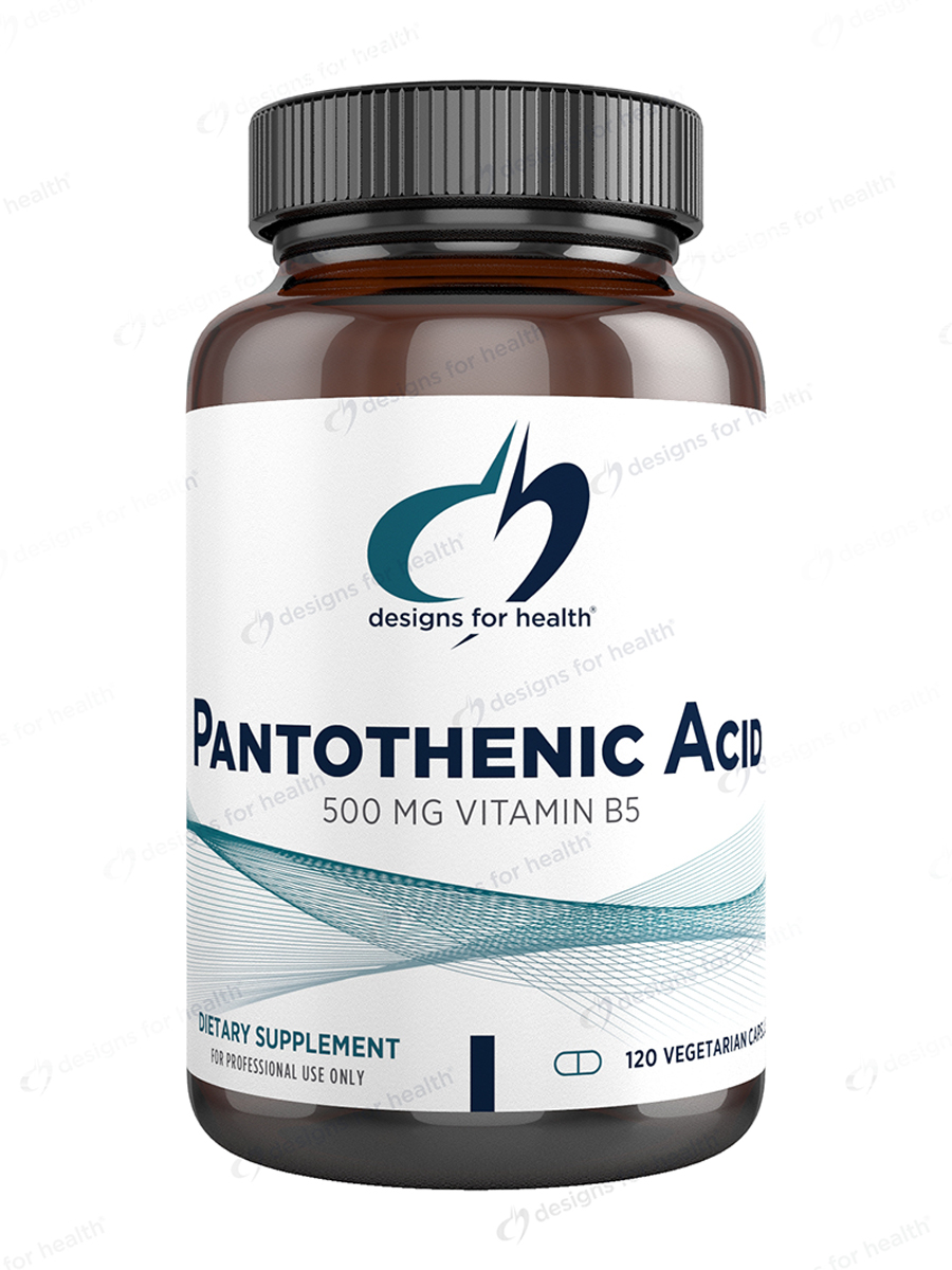 Pantothenic Acid - 120 Vegetarian Capsules