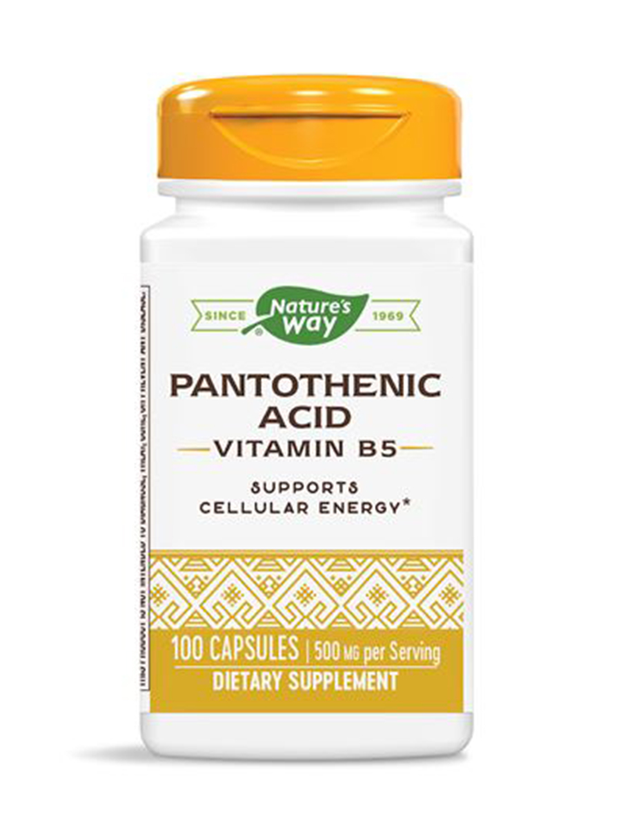 Pantothenic Acid 250 mg - 100 Capsules