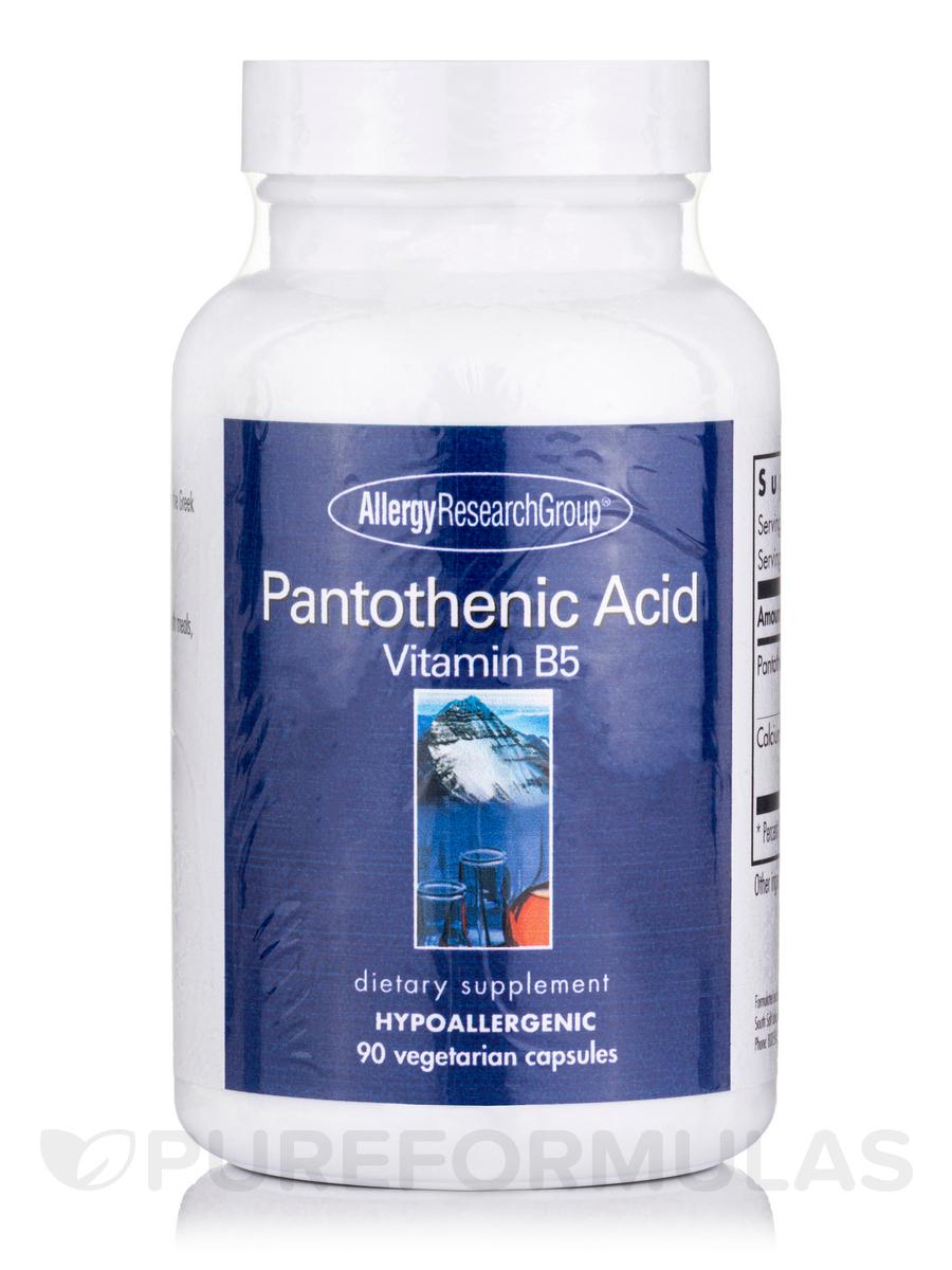 Pantothenic Acid - 90 Vegetarian Capsules