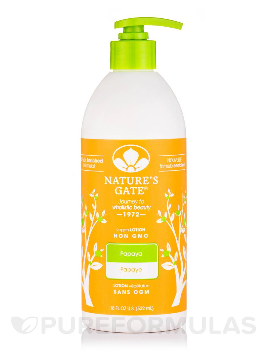 Papaya Moisturizing Herbal Lotion - 18 fl. oz (532 ml)