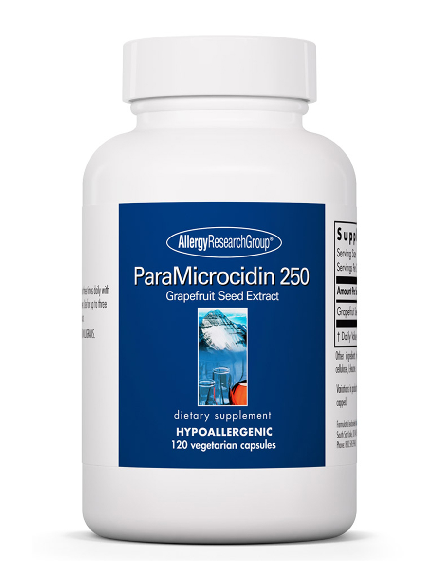 ParaMicrocidin 250 Grapefruit Seed Extract - 120 Vegetarian Capsules