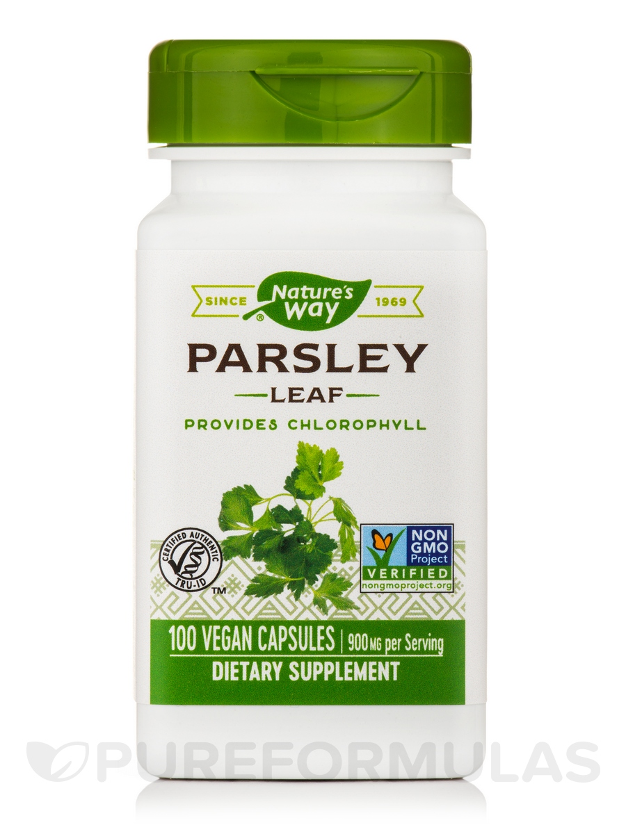 Parsley Leaf 450 mg - 100 Capsules