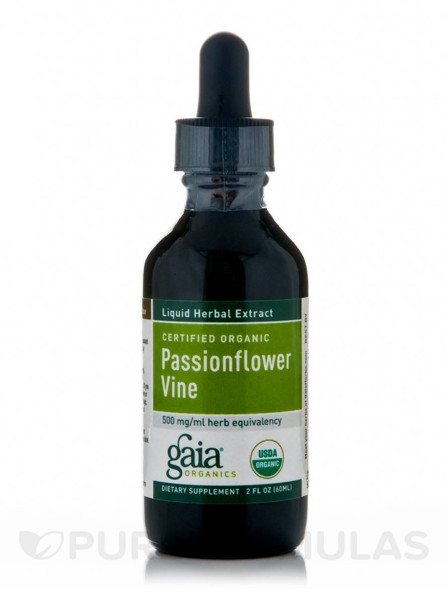 Passionflower Vine (Organic) - 2 fl. oz (60 ml)