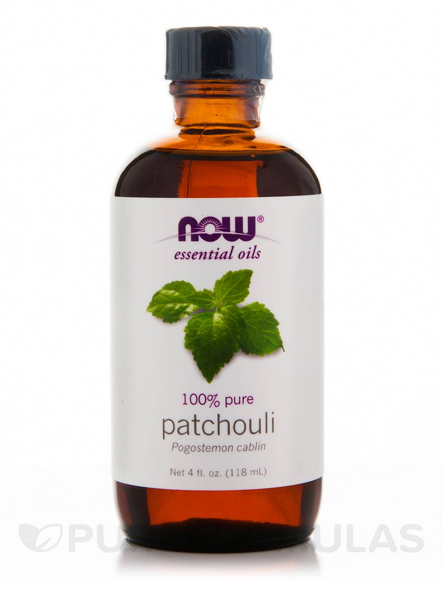 NOW® Essential Oils - Patchouli Oil - 4 fl. oz (118 ml)