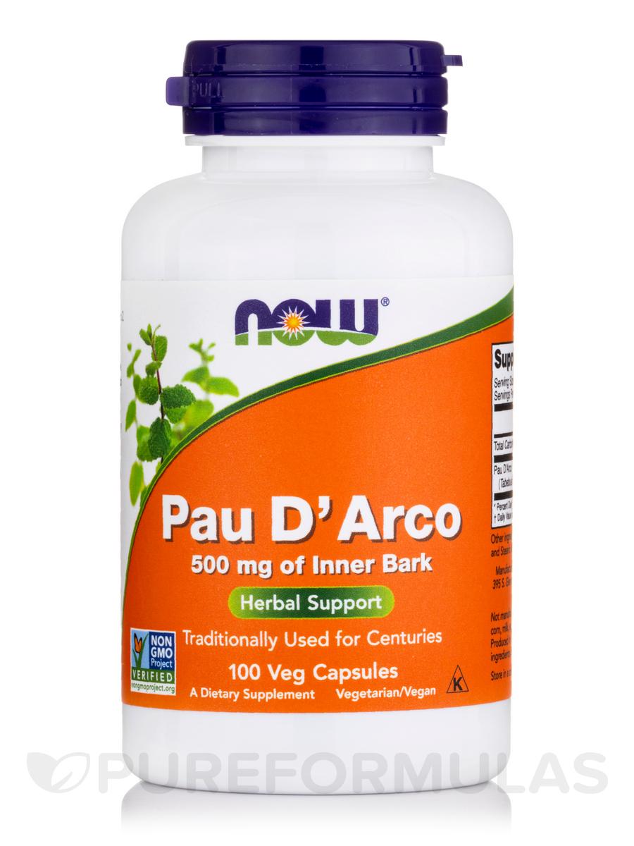 Pau D'Arco 500 mg - 100 Capsules