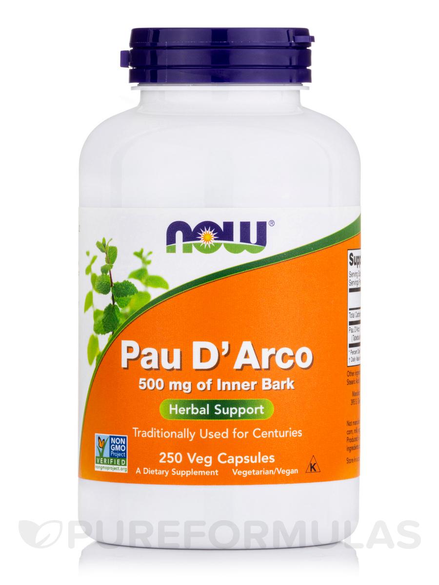 Pau D'Arco 500 mg - 250 Capsules