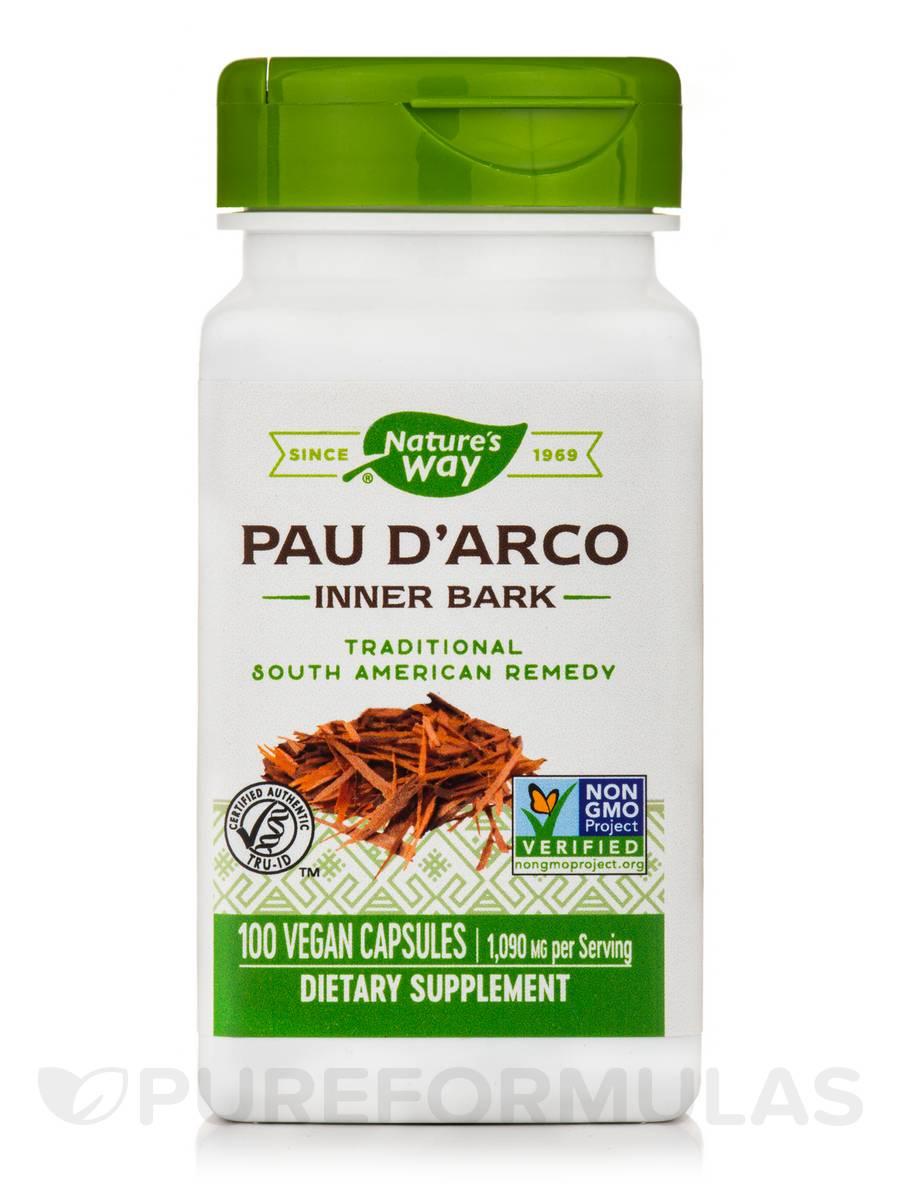 Pau d'Arco Inner Bark 545 mg - 100 Vegetarian Capsules