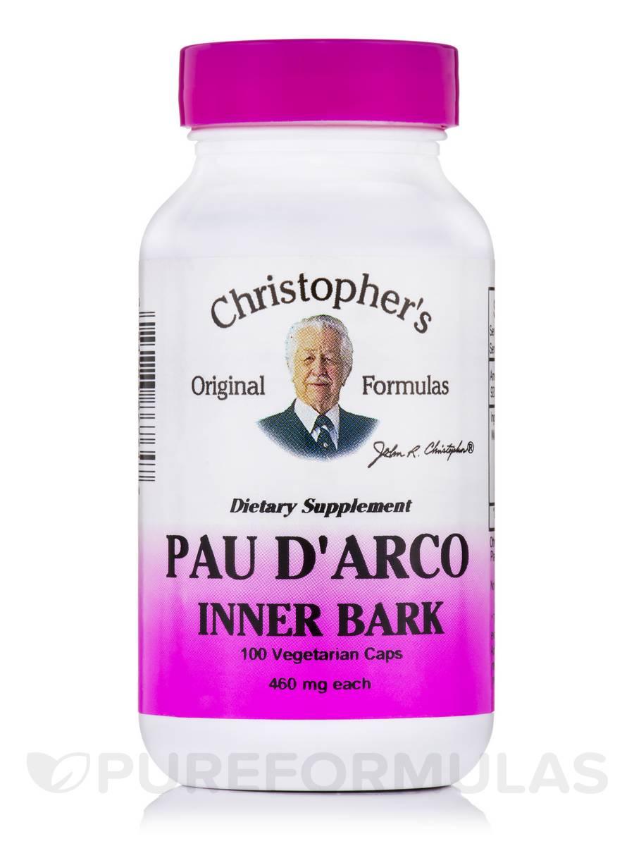 Pau D'Arco Inner Bark - 100 Vegetarian Capsules