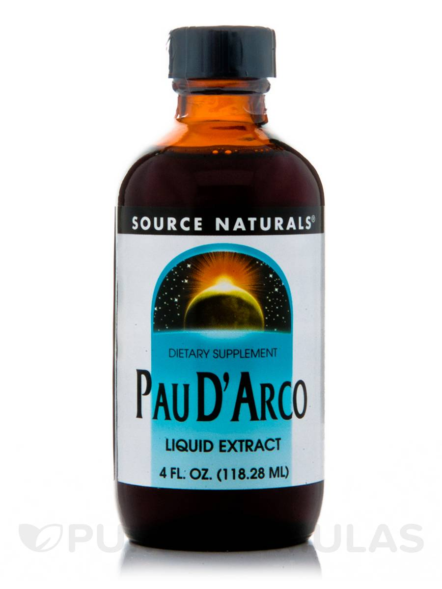Pau D'Arco Liquid Extract - 4 fl. oz (118.28 ml)