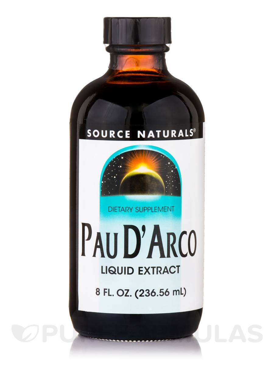 Pau D'Arco Liquid Extract - 8 fl. oz (236.56 ml)