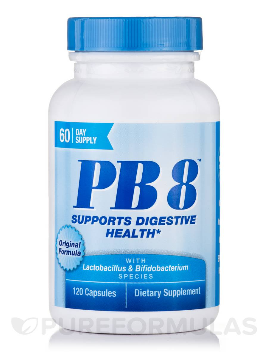 PB 8™ Original Probiotic Supplement - 120 Capsules