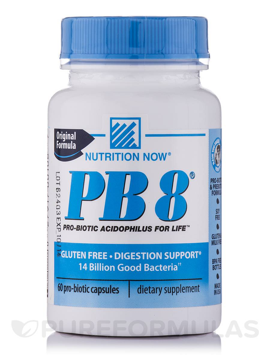 PB 8® Original Probiotic Supplement - 60 Capsules