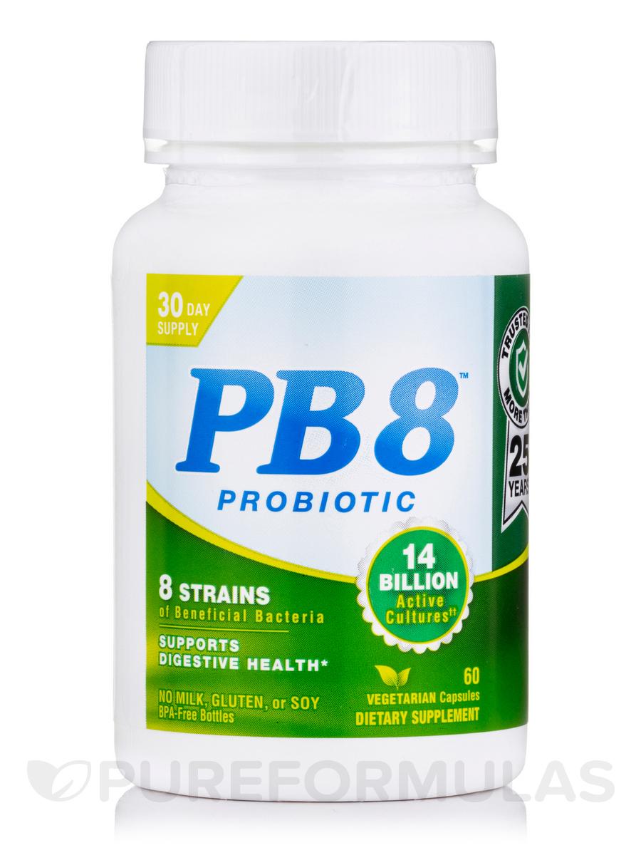 PB 8® Vegetarian Probiotic Supplement - 60 Vegetarian Capsules