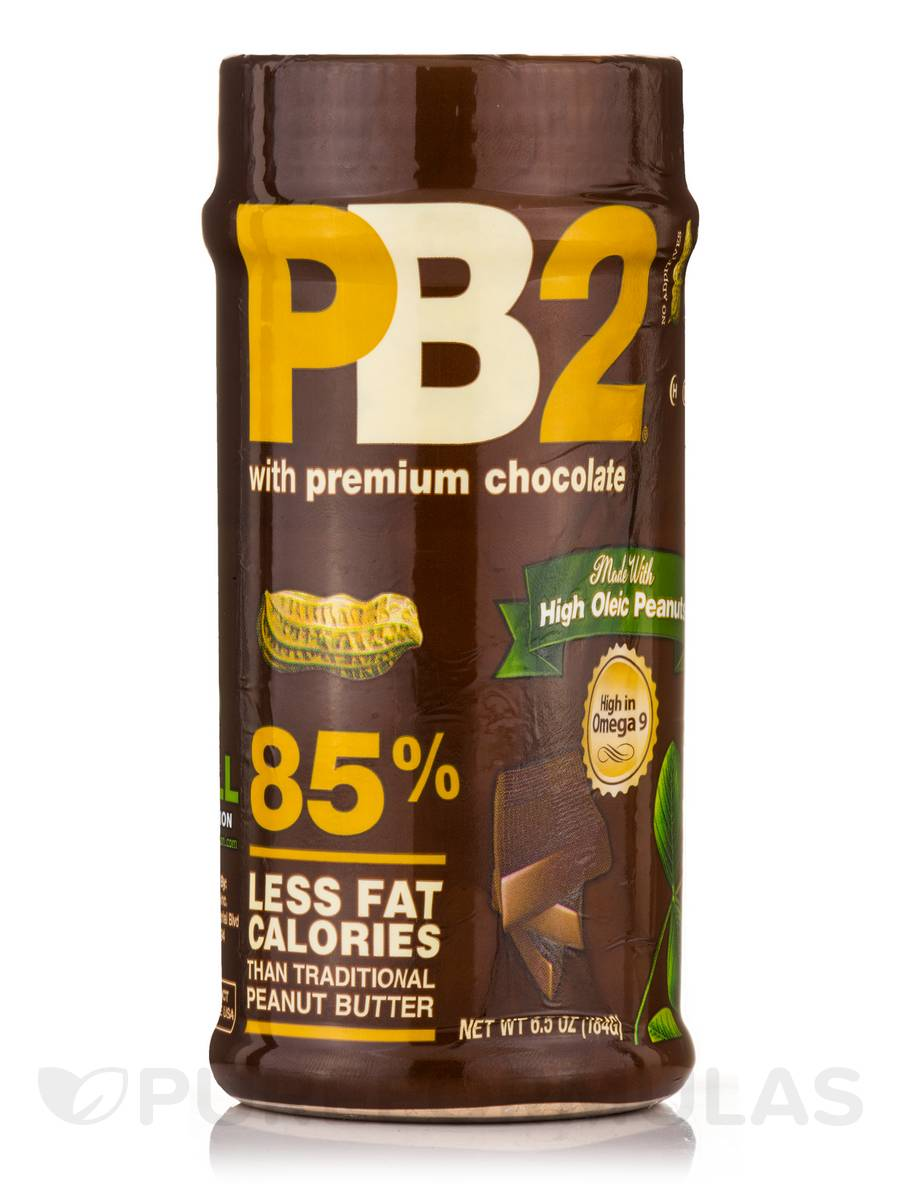 PB2 Chocolate - 15 Servings (6.5 oz / 184 Grams)