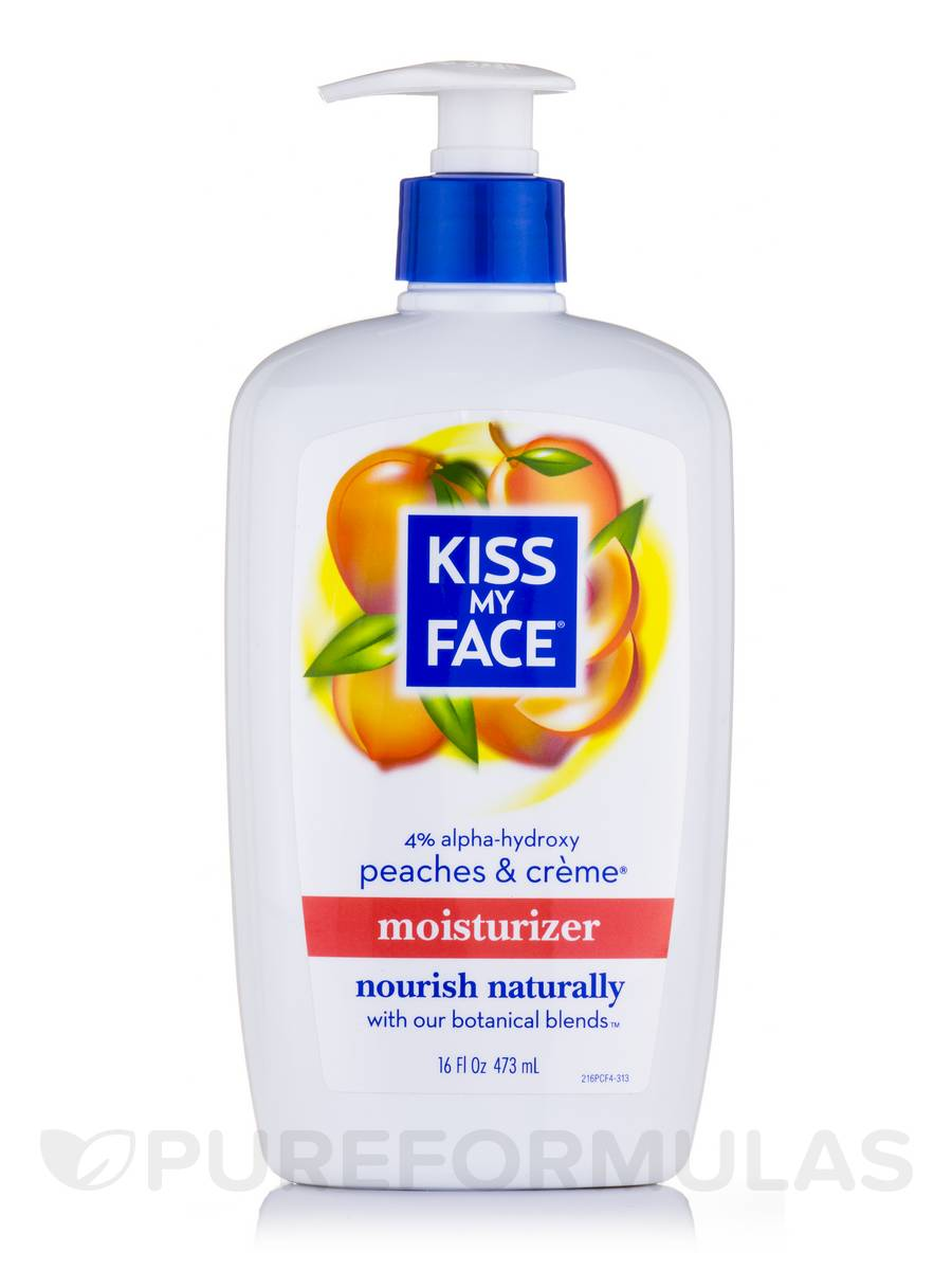 Peaches & Creme Moisturizer (With 4% AHA) - 16 fl. oz (473 ml)