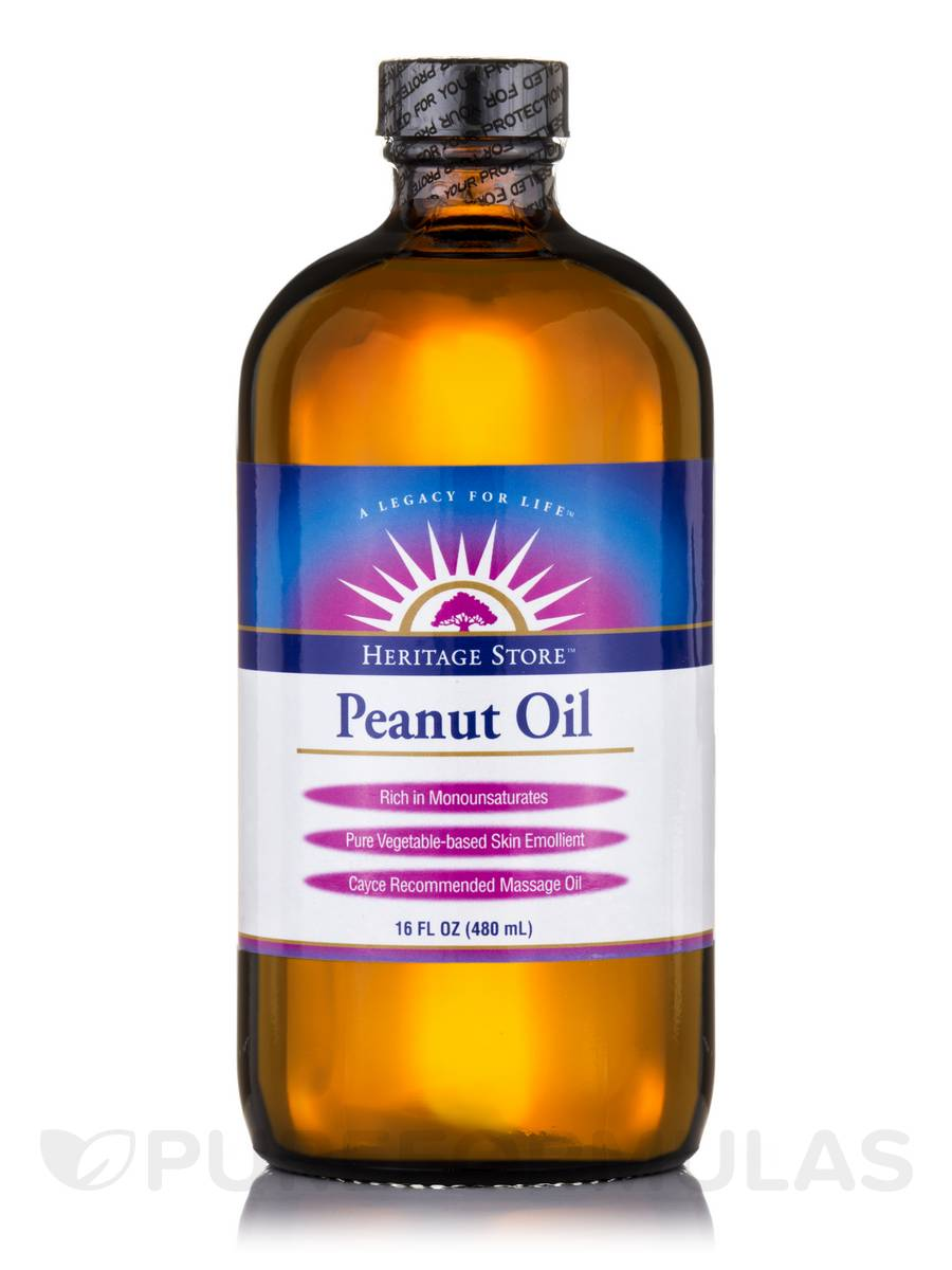 Peanut Oil with Vitamin E - 16 fl. oz (480 ml)