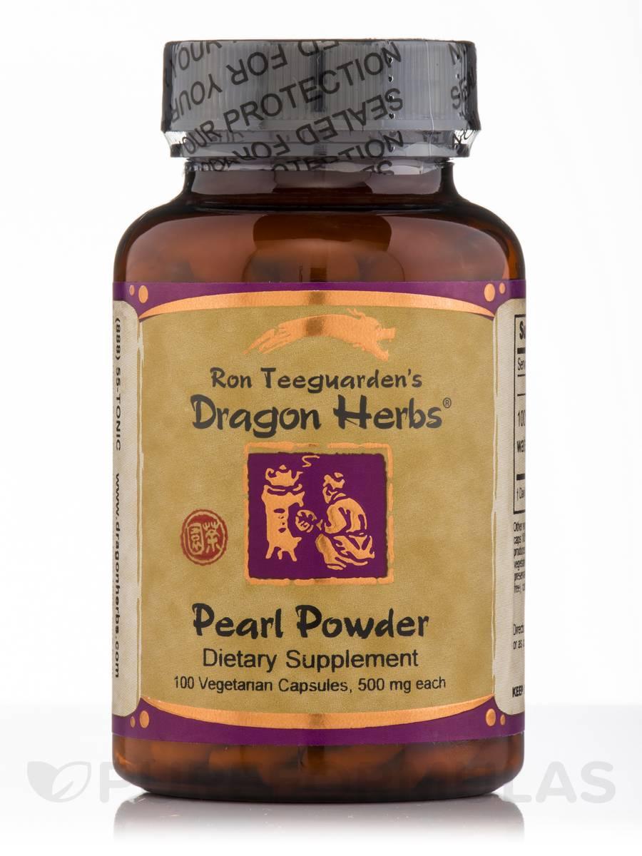 Pearl Powder - 100 Vegetarian Capsules