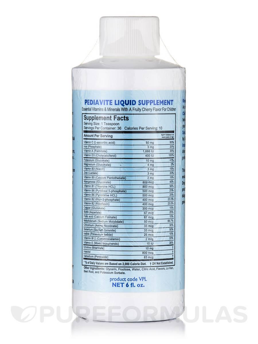 Pediavite Liquid - 6 fl. oz