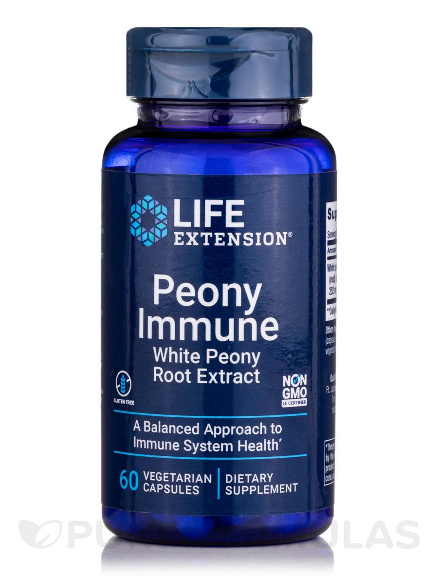 Peony Immune - 60 Vegetarian Capsules