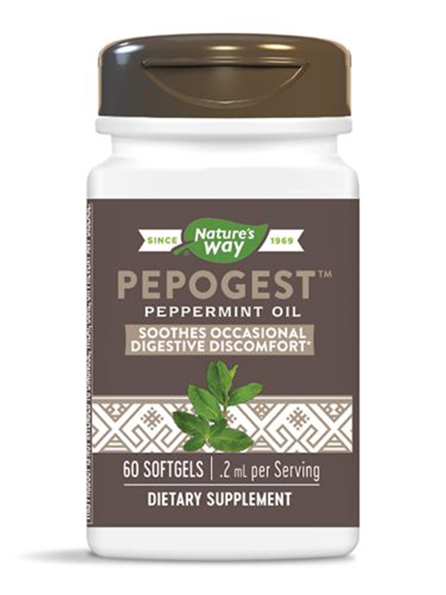 Pepogest Peppermint Oil - 60 Softgels