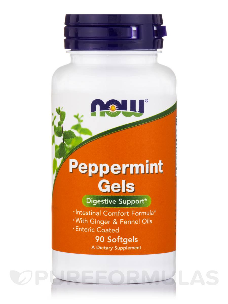 Peppermint Gels - 90 Softgels