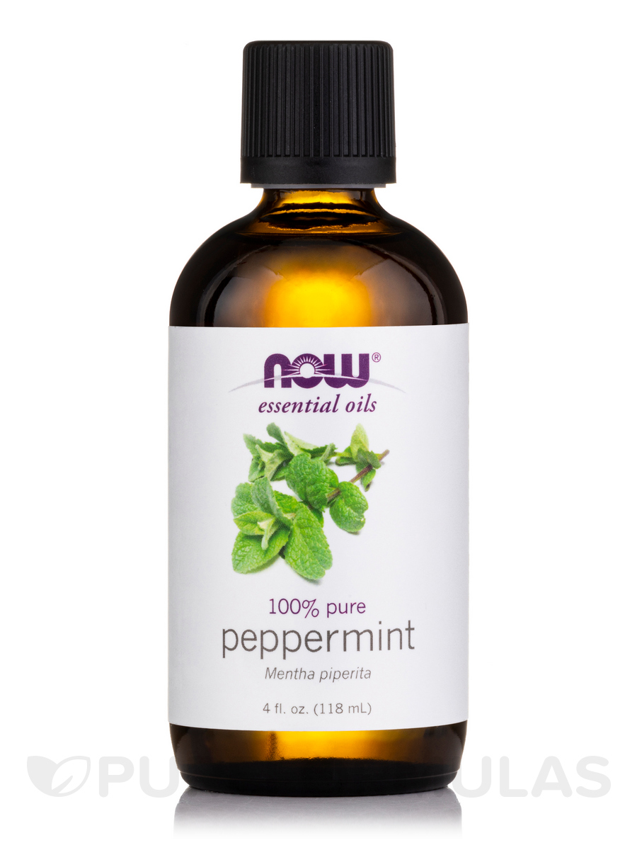 NOW® Essential Oils - Peppermint Oil - 4 fl. oz (118 ml)