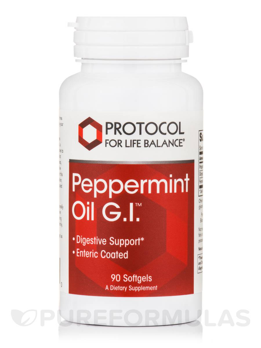 Peppermint Oil G.I.™ - 90 Softgels