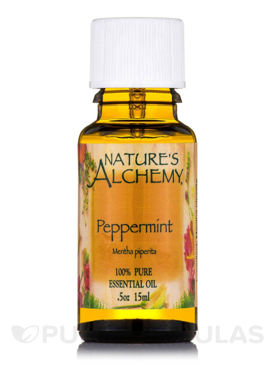 Peppermint Pure Essential Oil - 0.5 oz (15 ml)