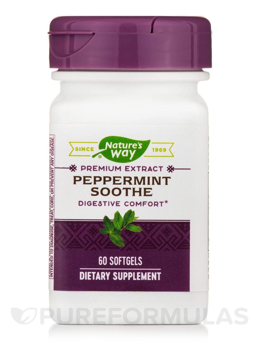 Peppermint Soothe - 60 Softgels