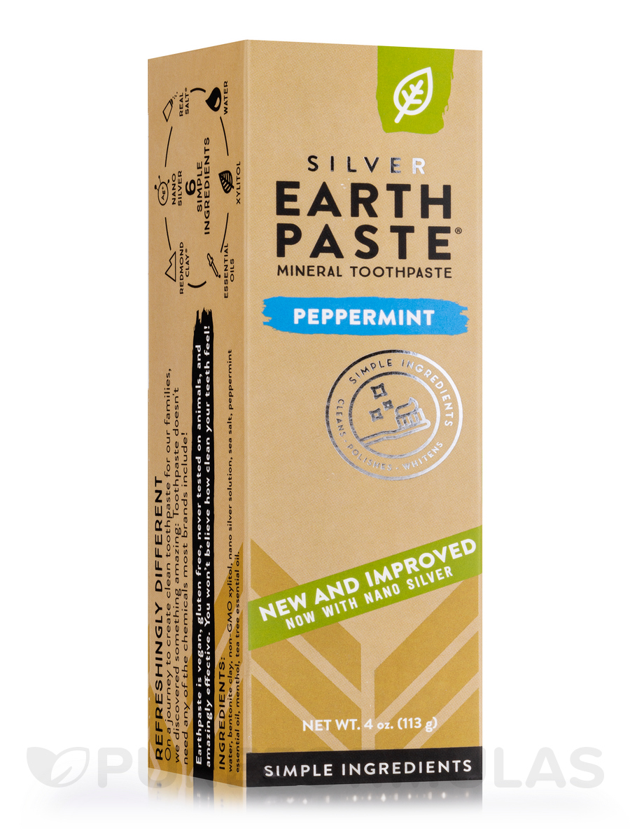 Peppermint Toothpaste - 4 oz (113 Grams)