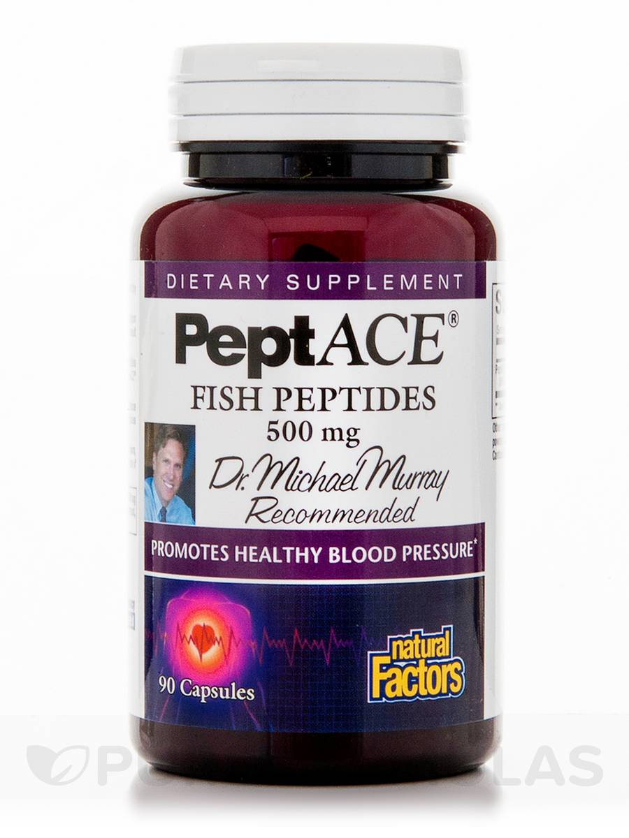 PeptACE Fish Peptides 500 mg - 90 Capsules
