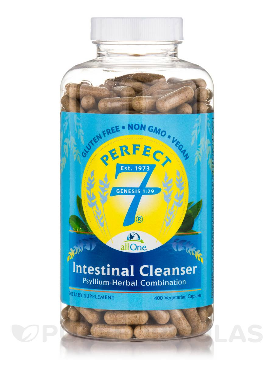Perfect 7 Intestinal Cleanser 500 mg - 400 Capsules