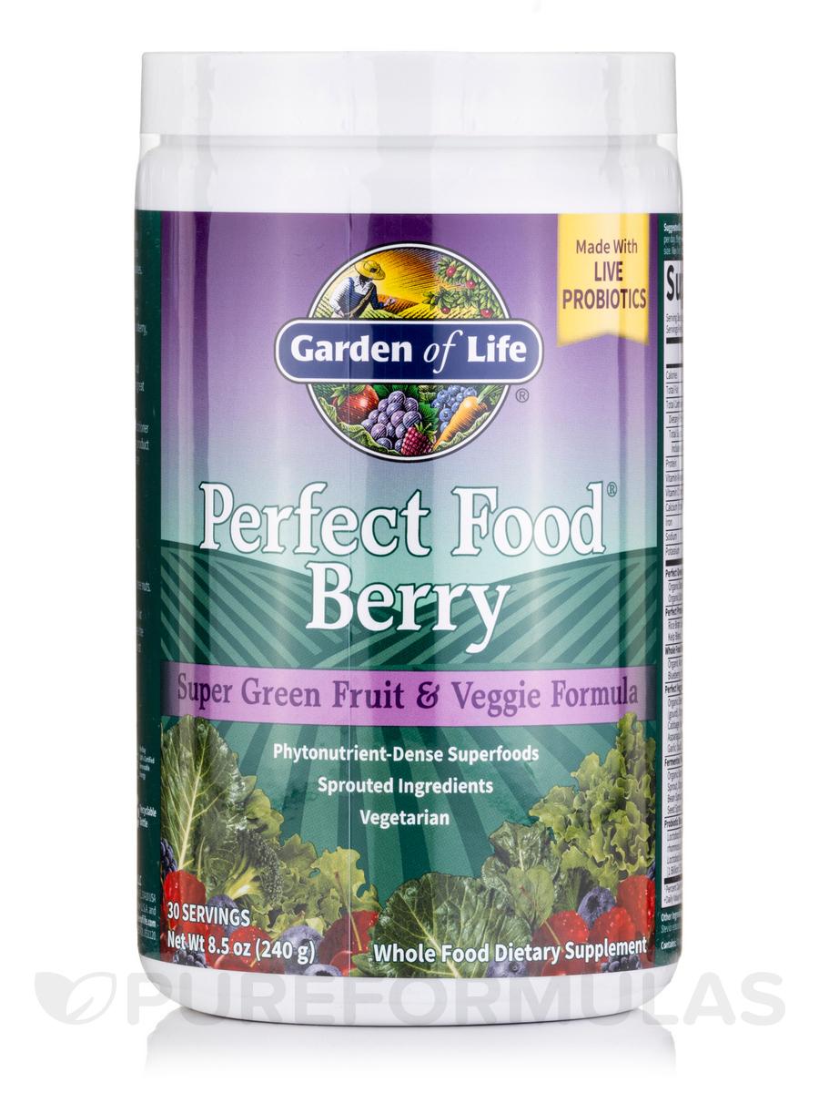 Perfect Food® - Berry Powder - 8.5 oz (240 Grams)