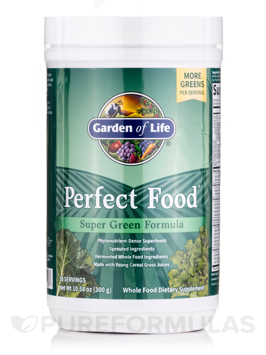 Perfect Food® - Super Green Formula - 10.58 oz (300 Grams)