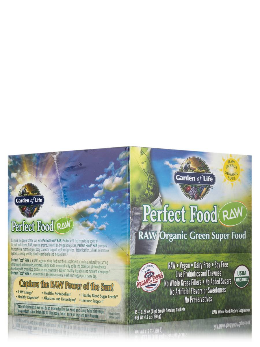 Perfect Food® RAW - Original - Box of 15 Packets