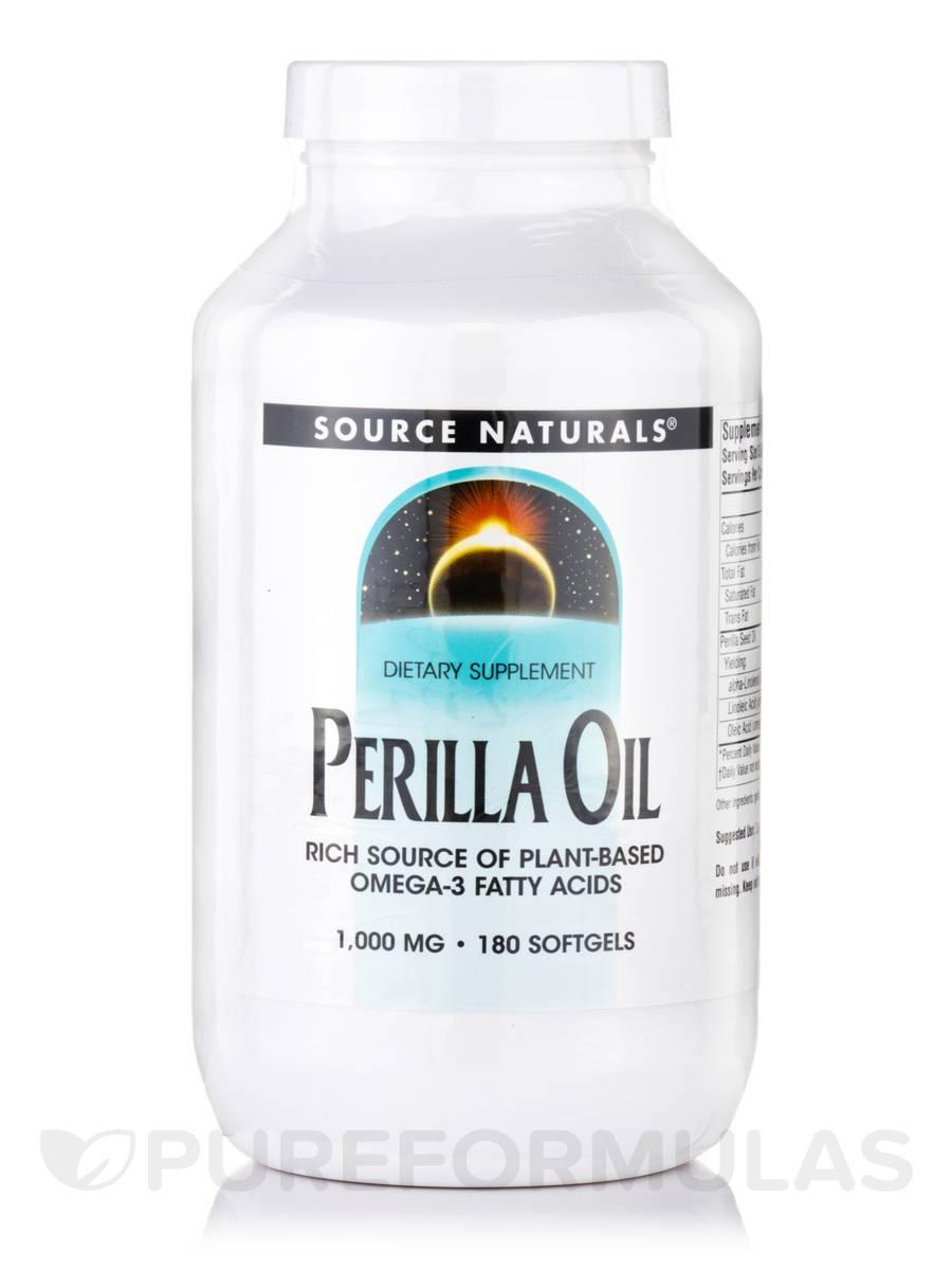 Perilla Oil 1000 mg - 180 Softgels