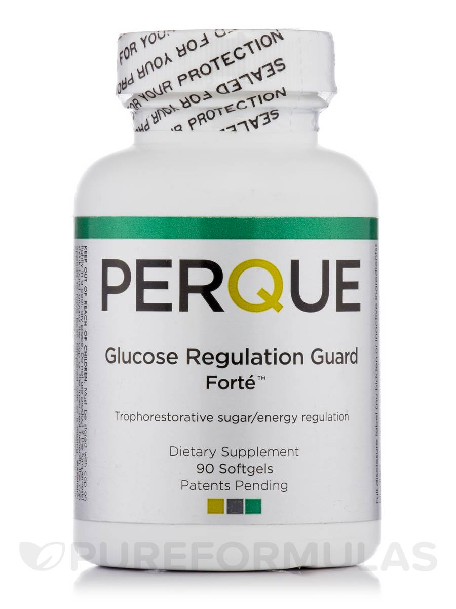 Perque Glucose Regulation Guard Forte™ - 90 Softgels